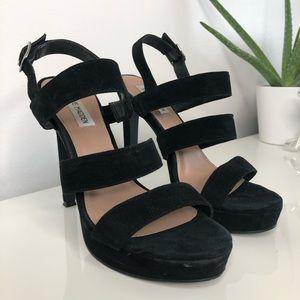 Steve Madden Glam suede heels Size 9